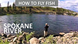 How to Fly Fish Spokane River Washington Late Spring