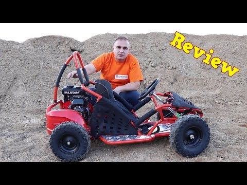 Buggy 80cc - Lifan 4 stroke engine - Overview - GoKid