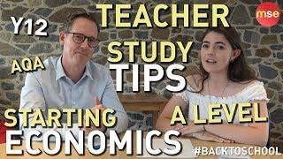 Starting A Level Economics! Year 12 A Level Economics Study Tips | Economics A Level! A2 Economics