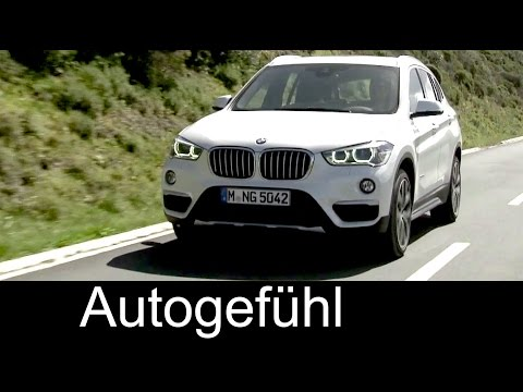 Preview all-new neuer BMW X1 exterior interior driving shots 2016 - Autogefühl
