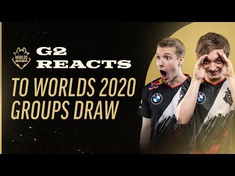 歐洲霸主 G2 WORLDS 2020 GROUP DRAW