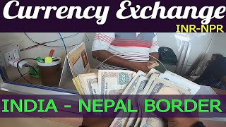 Foreign Currency Exchange Process || Nepal Border || India to Nepal || 3500 KM's Ride