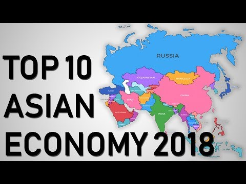 Top 10 Economies Of Asia 2018 (Nominal GDP)