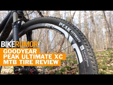 Goodyear Peak XC Mountain Bike Tire Review