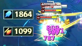 AKALI REWORK 1800+ AP & 1000+ AD! Ability Damage Test!