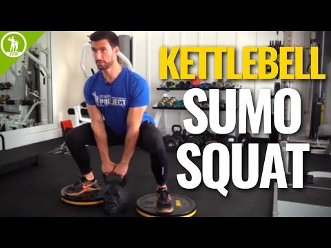Kettlebell Sumo Squat