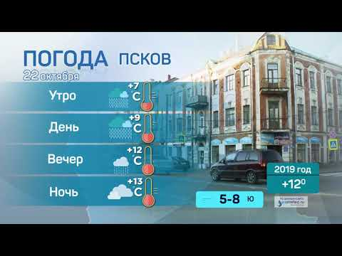 Прогноз погоды / 22.10.2020