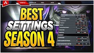Best Console SETTINGS for Apex Legends SEASON 4 Xbox One/PS4! (Perfecting Sensitivity and More!)