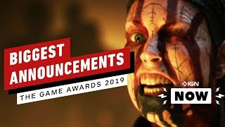 The new Xbox, a new Hellblade, a new Wolf Among Us...so much good stuff from this year's Game Awards.  #ign