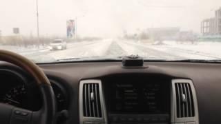 Атырау Снег ❄️  2016-2017 ❄️️