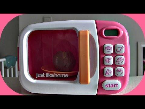 Just Like Home - elektronische Mikrowelle für die Kinderküche ♥ Review & Vorführung
