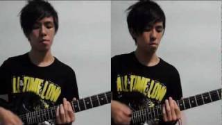All Time Low - Six Feet Under The Stars ( Guitar Cover )