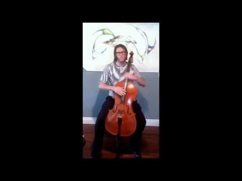 A lesson on jazz style pizzicato for cello.
