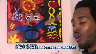 Art collective seeks to challenge stereotypes about African-American men