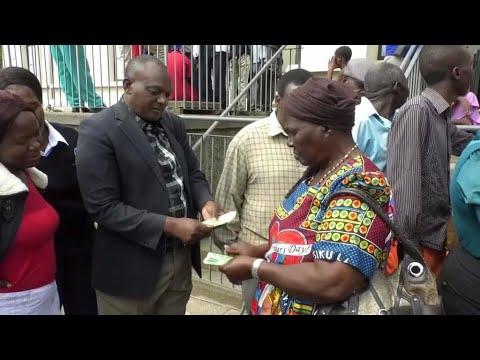 Zimbabwe issues fresh banknotes amid economic crisis