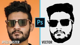 How To Convert Image Into Vector In Photoshop