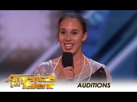 Vivien Vajda This Girl Is The Worlds BEST Jump Roper | America s Got Talent 2018,