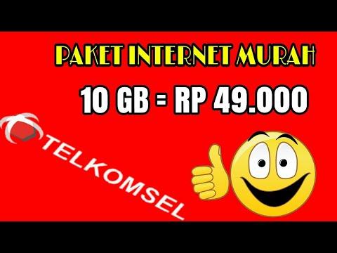 Video Cara daftar paket murah TELKOMSEL 4G.. 10GB hanya Rp.49000