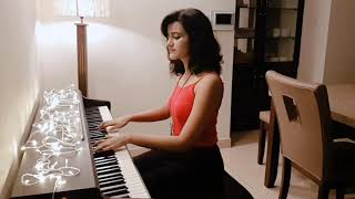 Shubhashree - Tere Liye ( Veer Zaara ) - Piano Cover - Download this Video in MP3, M4A, WEBM, MP4, 3GP