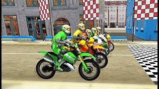 Juego De Motos Para Niños - Carrera De Motos - Videos Infantiles