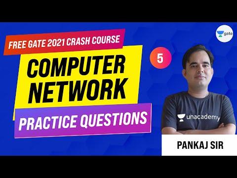 Practice Questions   Lec -5   Computer Network   GATE CSE/IT Exam