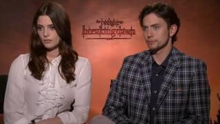 'Twilight: Breaking Dawn Pt. 1' Ashley Greene and Jackson Rathbone Interview