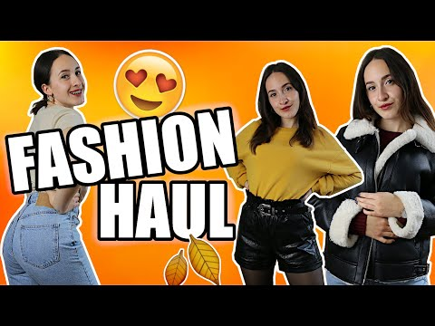 FASHION HAUL für den Herbst - Boots, Ledershorts, Mom Jeans, ... 🧡🍁 | Julia Bella