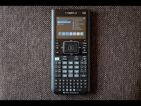 UltraUnboXing - TI-nspire CX CAS - Wie gut ist er ?