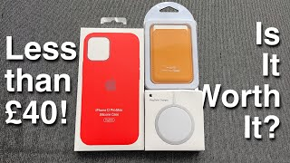 AliExpress MagSafe Silicone Case, Wallet & Charger for less than £40! Is it worth it?