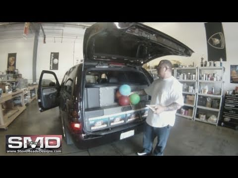 "Car Stereo BASS Vs. Balloons - 4 18"" Woofers 30,000 Watts"