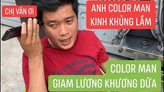 """Bị Color Man giam lương, Khương Dừa """"tức nước vỡ bờ"""" tiết lộ clip động trời cho vợ Color Man"""