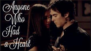 Damon and Elena Love Story - Anyone Who Had a Heart - The Vampire Diaries edit