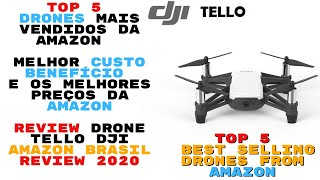 ▶️Top 5 Drones Mais Vendidos da Amazon Drone Tello DJI | Top 5 Best Selling Drones From Amazon 2020