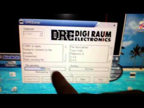 Прошивка ресивера DRE 5003 (не вкл)