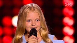 """Валерия Жиркевич  """"Голубка"""" – выбор вслепую – Голос. Дети 3 сезон"""