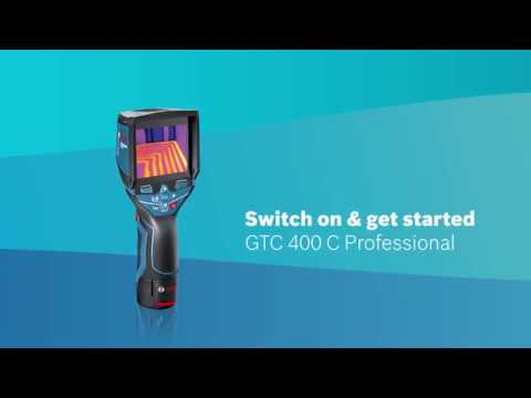 Bosch GTC 400C Professional Thermo Camera
