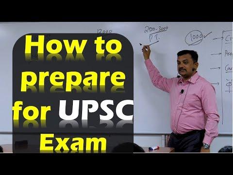 How to prepare for UPSC Exam - P. D. Chavan | Target 2020