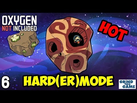Oxygen Not Included - HARDEST Difficulty #6 - Metal Refining and Food (Oasisse) [4k]