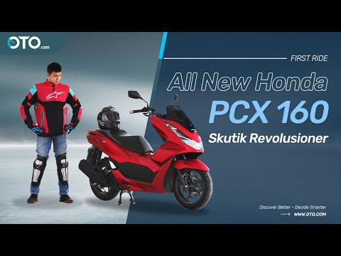 All New Honda PCX 160 | Makin Bertenaga