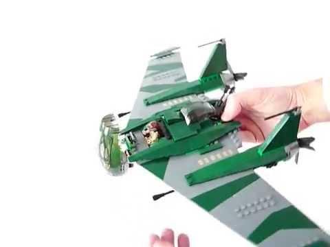 Vidéo LEGO Indiana Jones 7683 : Combat sur l'aile volante