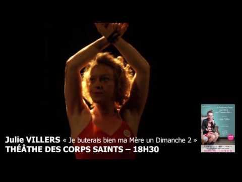 Julie Villers au Festival d'Avignon