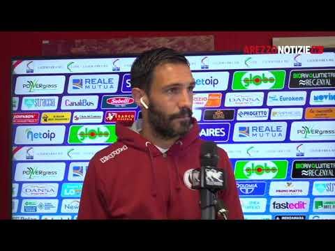Samb-Arezzo 1-0, intervista a Nicolo Cherubin