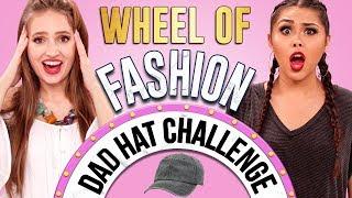 DAD HAT CHALLENGE?! Wheel of Fashion w/ Roxette Arisa & Courtney Randall
