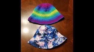 Crochet Bucket Hat Pattern - YarnWars