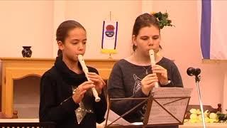1. Adventi gyertya gyújtása – Tiszalök, 2017.dec.3.