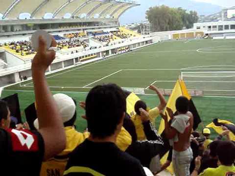 """salida de san luis v/s coquimbo / Ultra Kanaria"" Barra: Ultra Kanaria • Club: San Luis de Quillota"