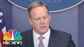 Sean Spicer To WH Press Corps: 'Our Intention Is Never To Lie To You'   NBC News