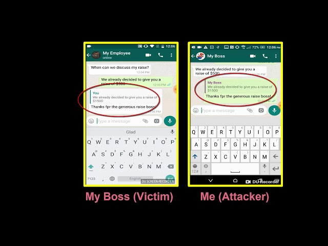 WhatsApp Flaw Could Allow Hackers to Modify, Send Fake