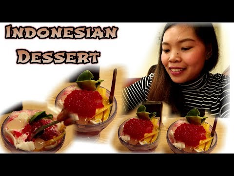 VLOG: I Tried Indonesian Dessert 🍨🍧🍨🍭
