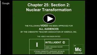 Pearson Chapter 25: Section 2: Nuclear Transformation